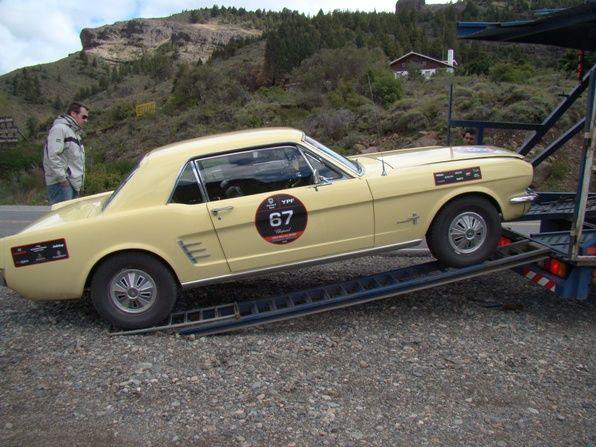 El Mustang lesionado