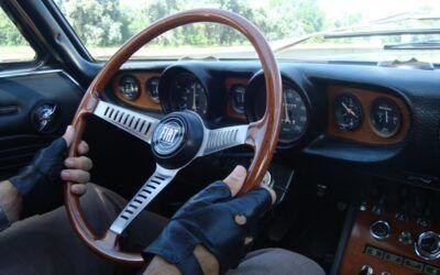 Manejando el Fiat Dino Coupé