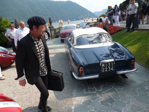 Villa D'Este 2012:Harada y la Ferrari 250 Zagato