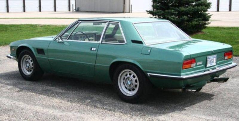 1974_DeTomaso_Longchamp_For_Sale_Rear_1