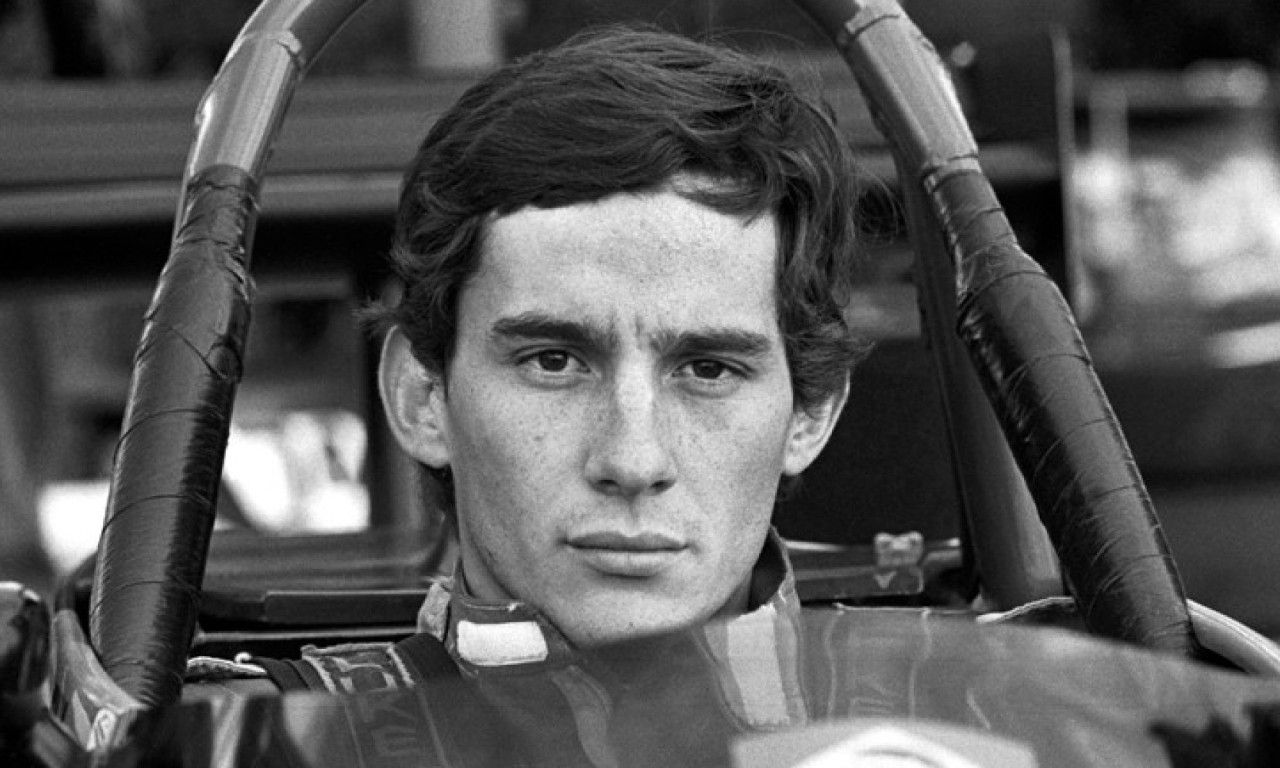 Race and championship winner Ayrton Senna (BRA) Rushen Green Van Diemen RF82. EFDA Formula Ford 2000 Championship, Jyllandsring, Denmark, 22 August 1982.