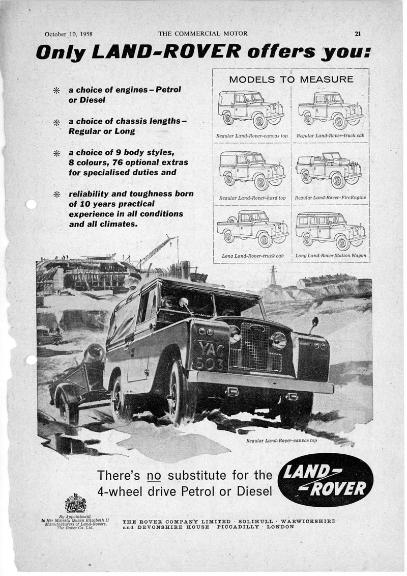 Land Rover_The Commercial Motor_Oct10 1958_Inglaterra
