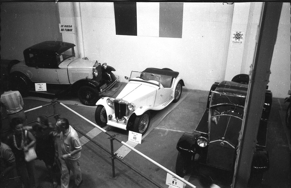 Ford A, MG TC y Lancia Lambda