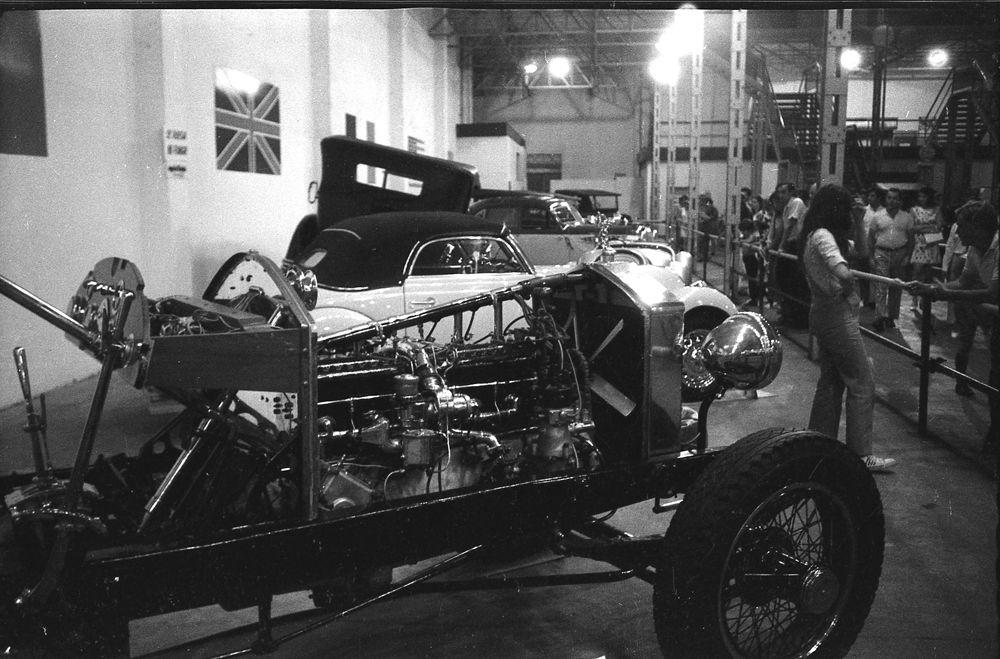 Rolls-Royce chasis