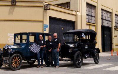 Se completó la caravana «A 90 años del Ford T 100.000»