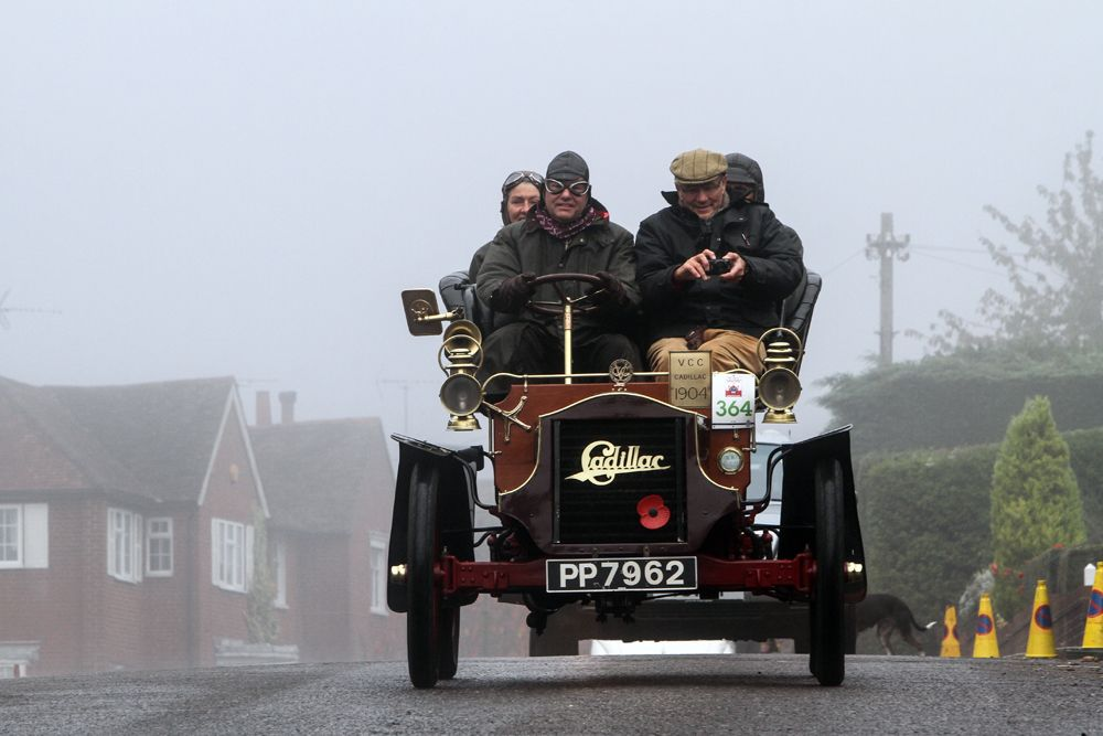 1904 Cadillac driven by Robin Morrison