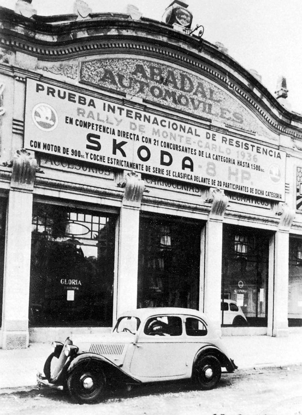 concesionario-352-koda-en-barcelona-en-1936