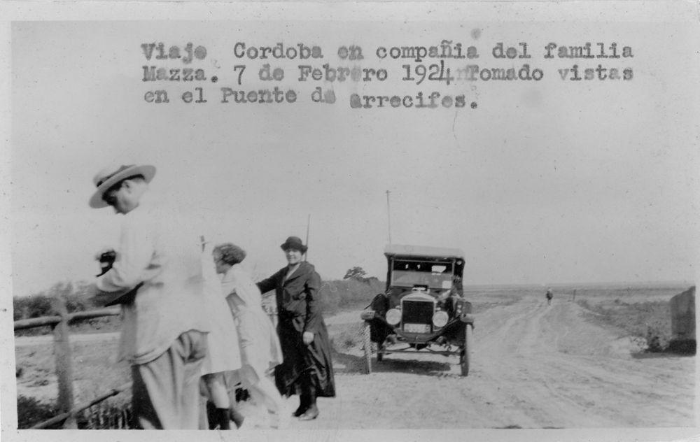 Ford T 3556 Puente de Arrecifes 1924