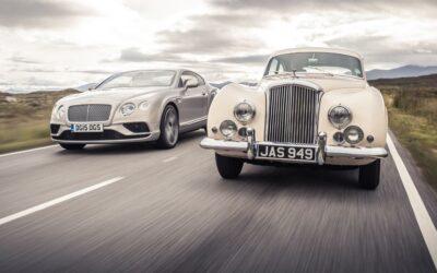 Bentley Continental, ayer y hoy