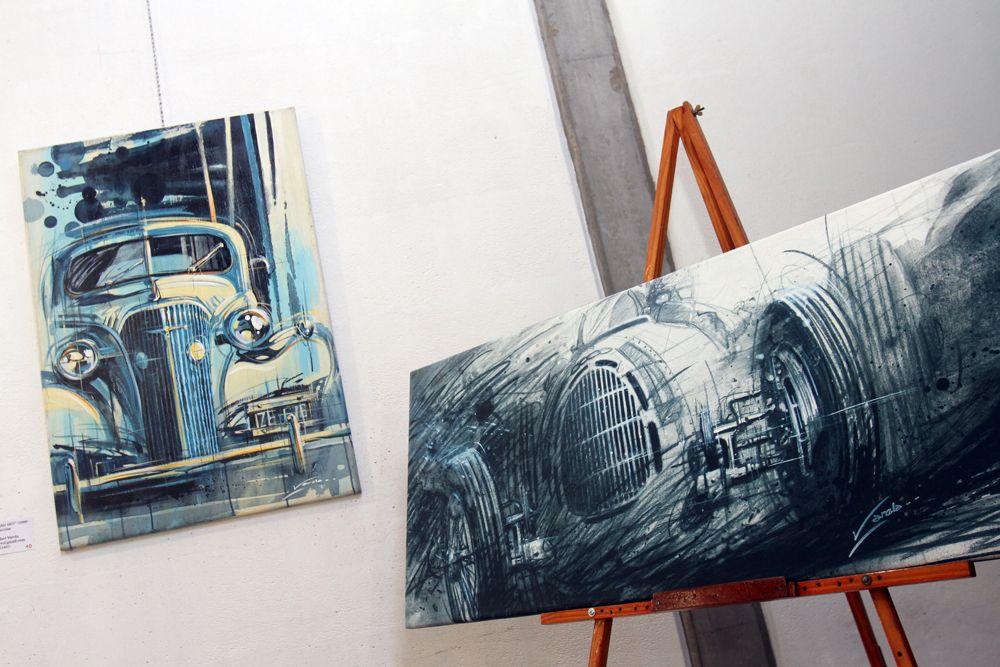 El arte y los autos abren sus puertas