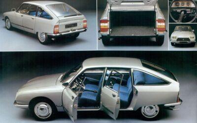 45 años del Citroën GS
