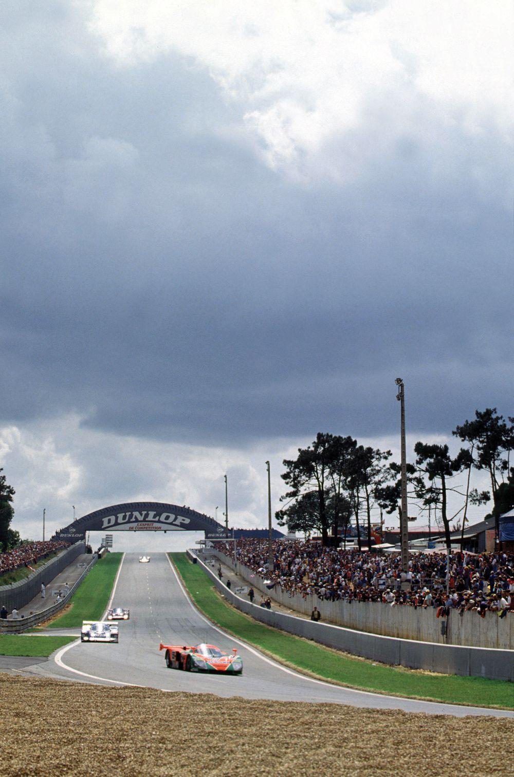 1991 24 Hours Le Mans Le Mans, France. June 1991 Mazda World Copyright - LAT Photographic