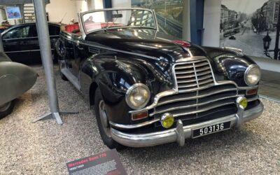 Un Grosser Mercedes en Praga