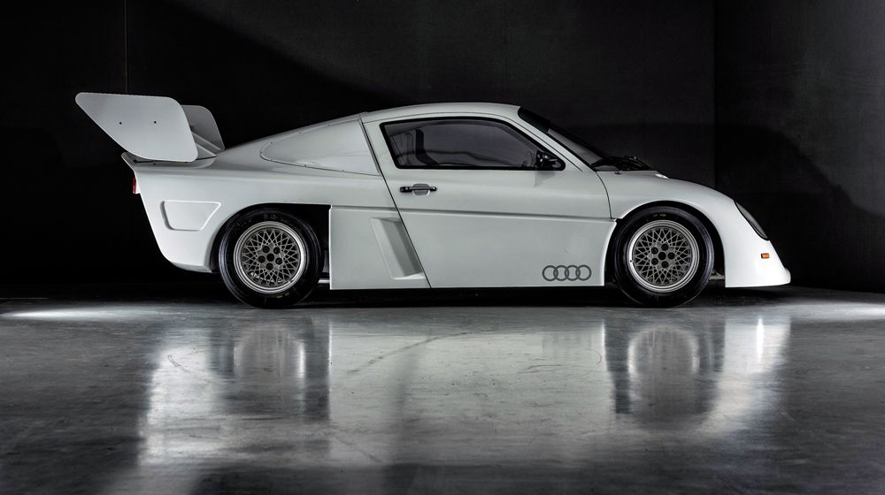 Planned for the 1987 World Rally Championship: the Audi Group S. The racing car never actually got the chance to race.