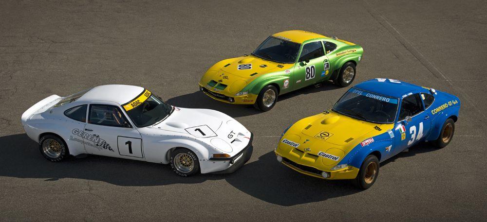 El Opel GT asalta Techno Classica