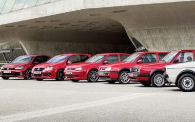 En marcha los festejos por los 40 años del VW Golf GTI