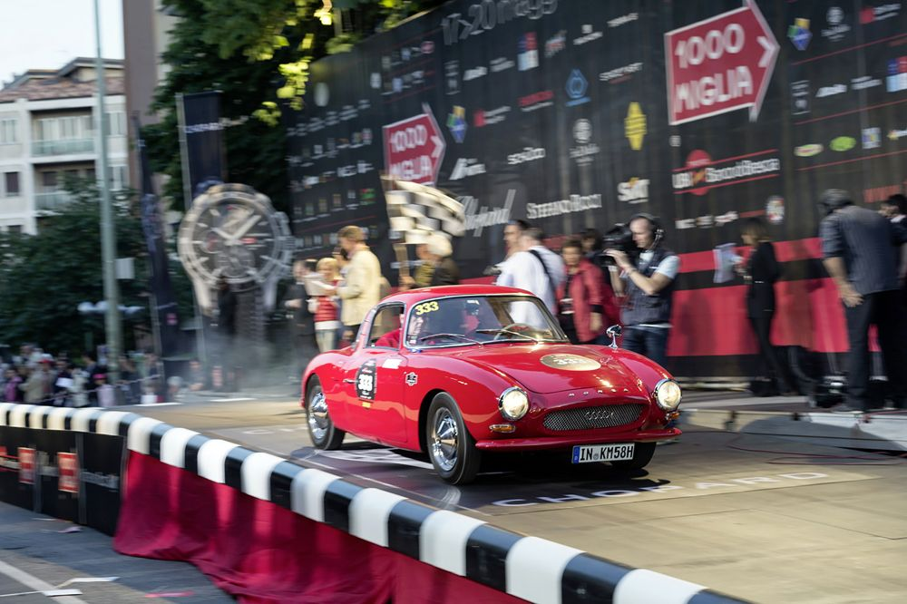 CoupAi??s seemed to have been created solely for long-distance races ai??i?? like the DKW Monza from 1956 at the Mille Miglia in Italy.