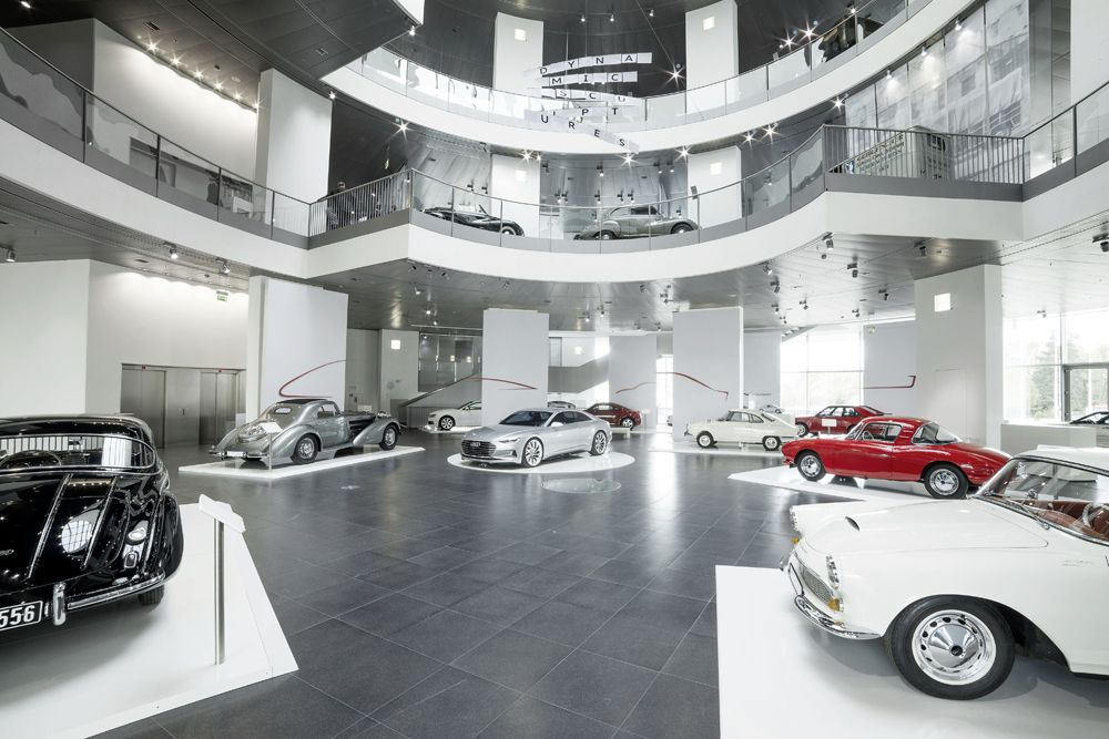 Dynamic Sculptures: The new temporary exhibition at Audi museum mobile shows the history of the CoupAi??.