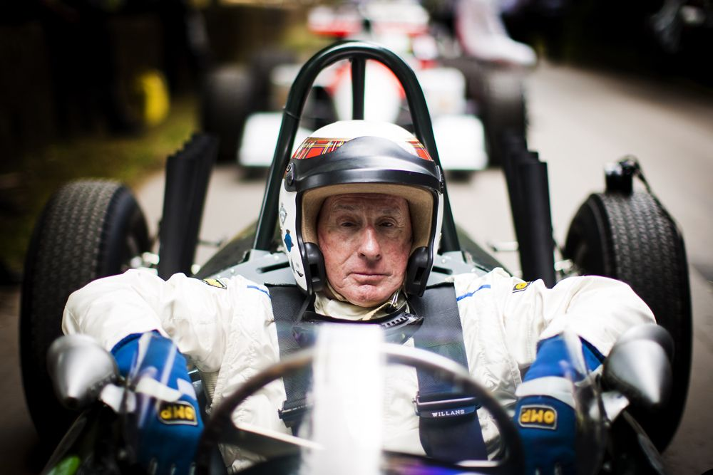 2016 Goodwood Festival Of Speed 23rd - 26th June 2016 FoS Thursday, 24th June. Goodwood, England. Batch Four, 4, Jackie Stewart Photo: Drew Gibson