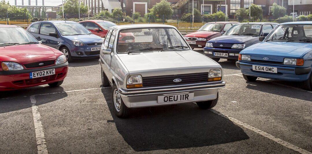 El Ford Fiesta celebra 40 años en producción