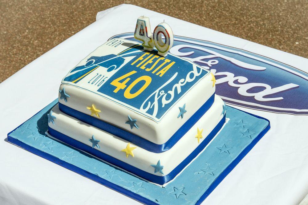 14 Fiesta 40th Birthday cake