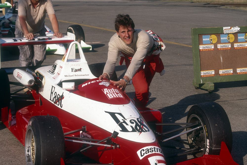 Michael Schumacher Formel 3 - 1990