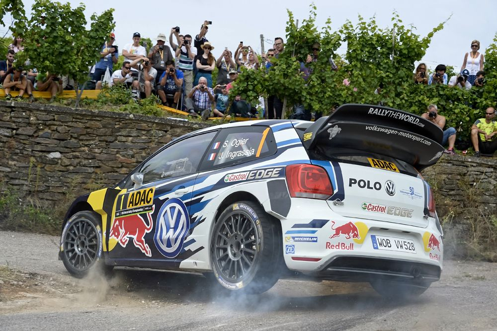 SAi??bastien Ogier (F), Julien Ingrassia (F) Volkswagen Polo R WRC (2016) WRC Rally Germany 2016