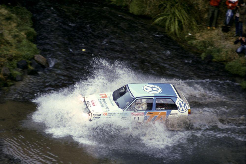 Kenneth Eriksson, Peter Diekmann Rally Neuseeland 1986