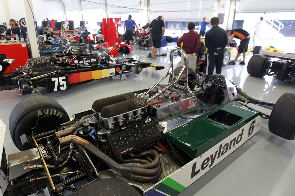 Silverstone Classic 2016, 29th-31st July, 2016, Silverstone Circuit, Northants, England. Grand Prix Cars Copyright Free for editorial use only Mandatory credit Ai?? Jakob Ebrey Photography