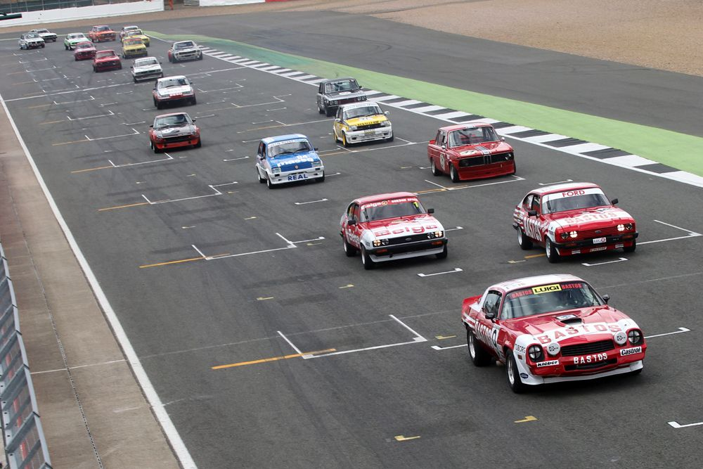Silverstone Classic 2016,  29th-31st July, 2016, Silverstone Circuit, Northants, England.  Clark-WillsChevrolet Camaro Copyright Free for editorial use only Mandatory credit – Jakob Ebrey Photography