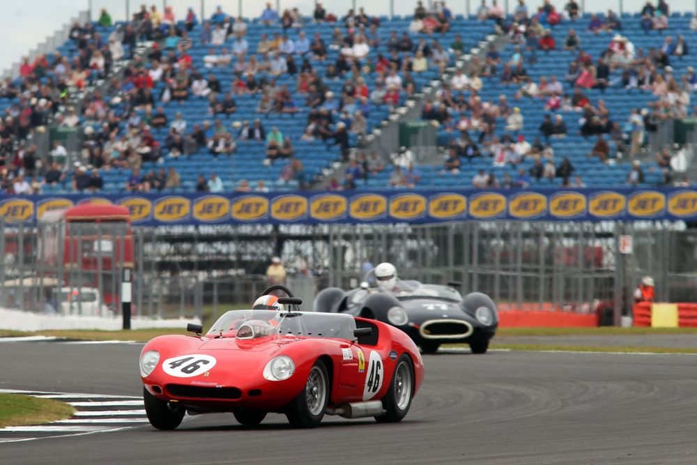 Silverstone Classic 2016, 29th-31st July, 2016, Silverstone Circuit, Northants, England. Sam Hancock Ferrari 246S Copyright Free for editorial use only Mandatory credit Ai?? Jakob Ebrey Photography