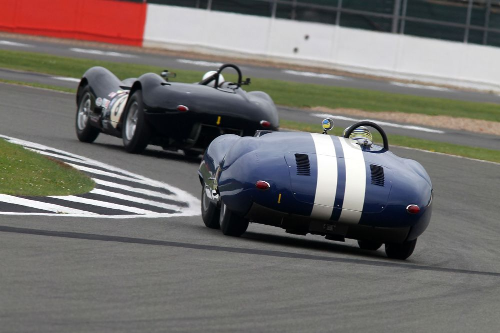 Silverstone Classic 2016, 29th-31st July, 2016, Silverstone Circuit, Northants, England. Wood-Nuthall Lister Knobbly Copyright Free for editorial use only Mandatory credit Ai?? Jakob Ebrey Photography