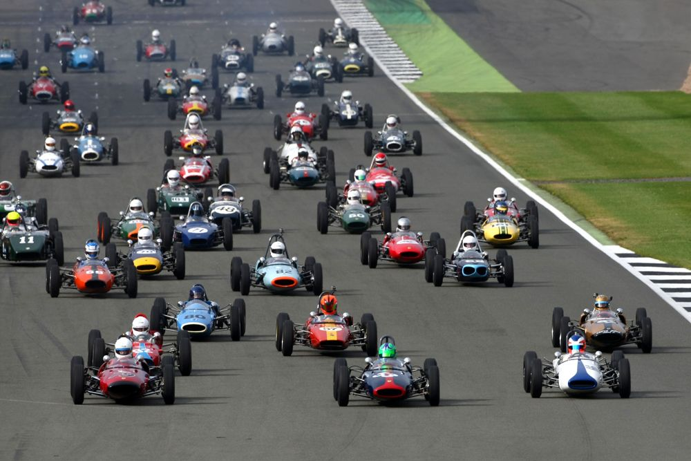 Silverstone Classic 2016: los Fórmula Junior