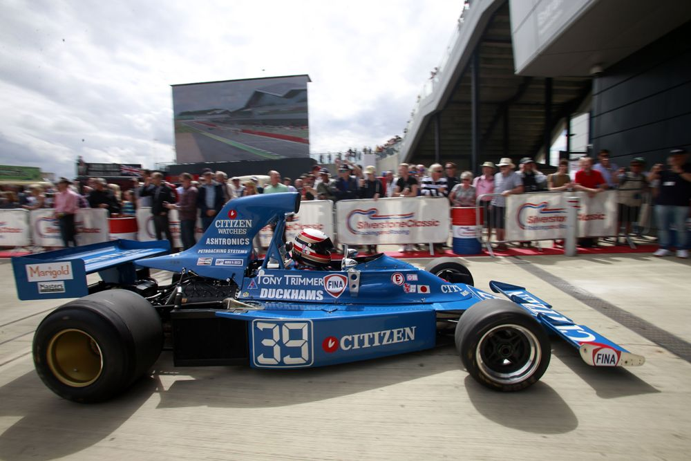 Silverstone Classic 2016, 29th-31st July, 2016, Silverstone Circuit, Northants, England. Marc Devis Maki F101 Copyright Free for editorial use only Mandatory credit Ai?? Jakob Ebrey Photography