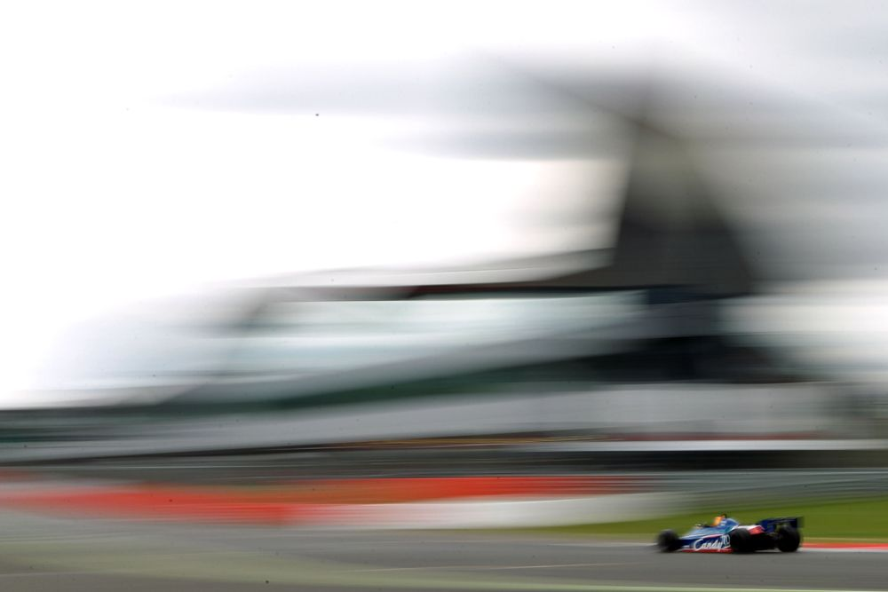 Silverstone Classic 2016, 29th-31st July, 2016, Silverstone Circuit, Northants, England. Loic Deman Tyrrell 010 Copyright Free for editorial use only Mandatory credit Ai?? Jakob Ebrey Photography