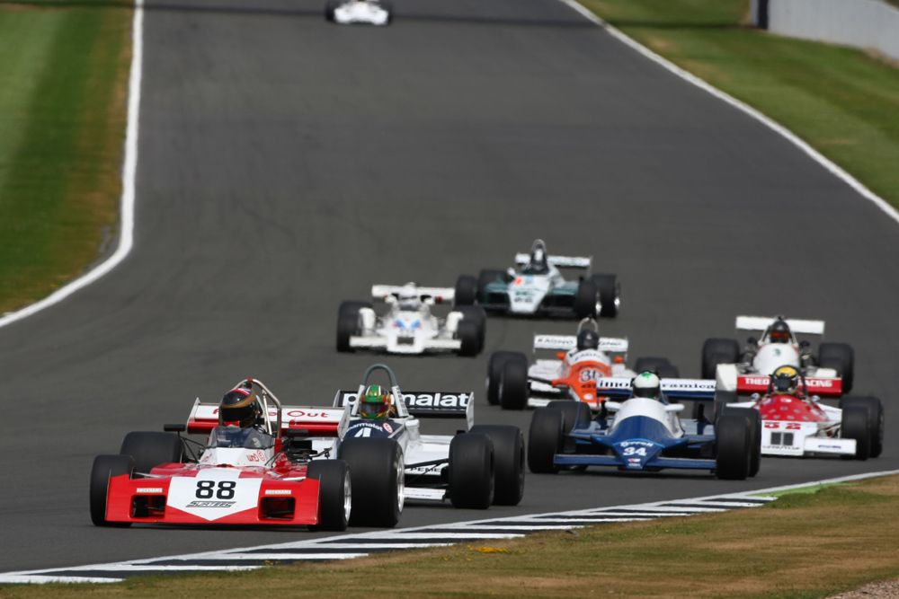 Silverstone Classic 2016, 29th-31st July, 2016, Silverstone Circuit, Northants, England. Max Smith-Hilliard Surtees TS9B Copyright Free for editorial use only Mandatory credit Ai?? Jakob Ebrey Photography