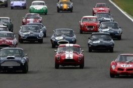 Silverstone Classic 2016,  29th-31st July, 2016, Silverstone Circuit, Northants, England.  The start of the race Copyright Free for editorial use only Mandatory credit – Jakob Ebrey Photography