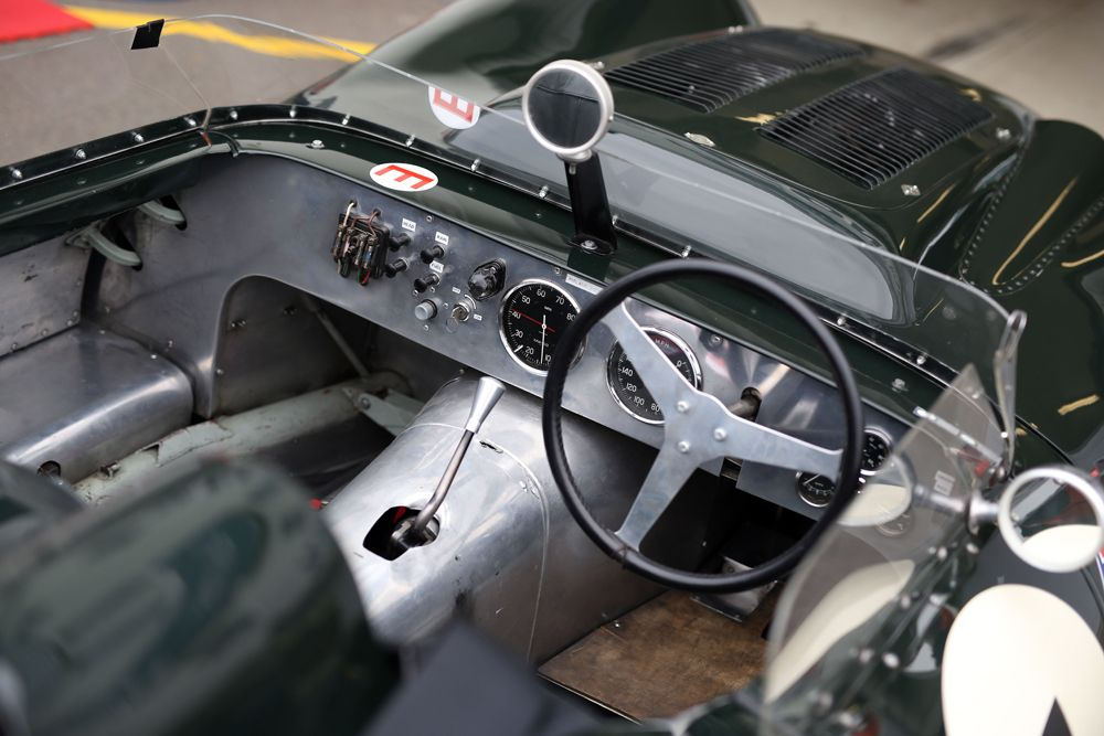 Silverstone Classic 2016, 29th-31st July, 2016, Silverstone Circuit, Northants, England. Car Interior Copyright Free for editorial use only