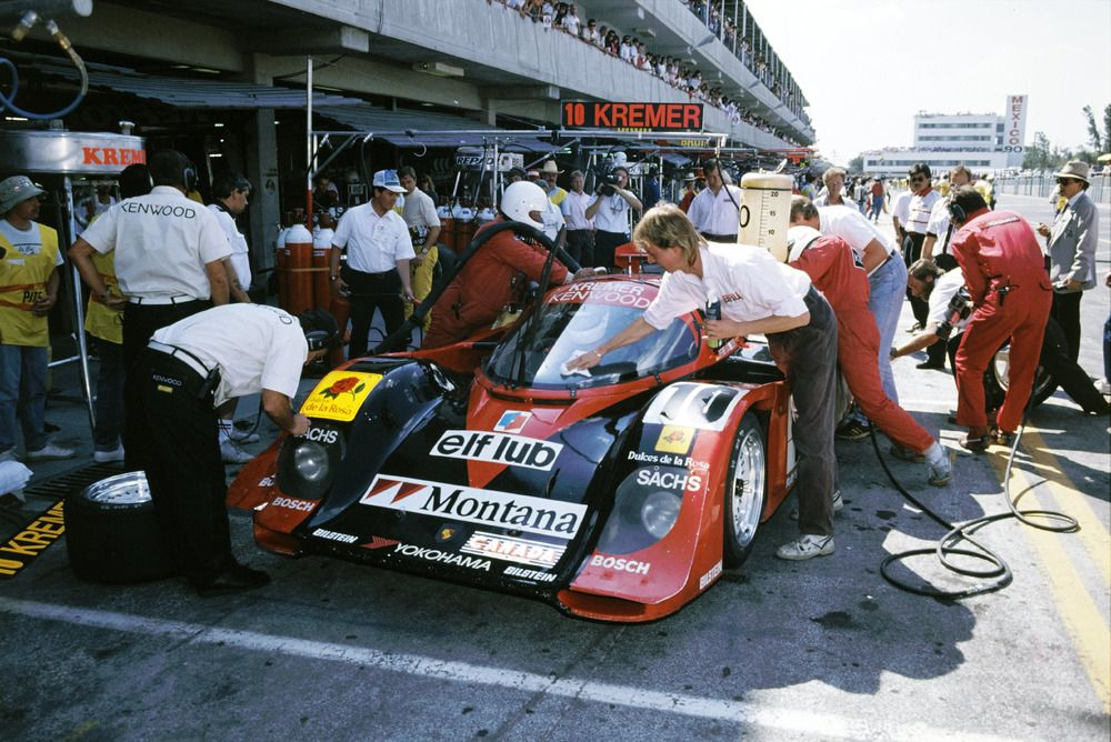 964885_07.10.1990, Porsche 962 C, Bernd Schneider, Tomas Lopez, 480-kilometre race of Mexico City