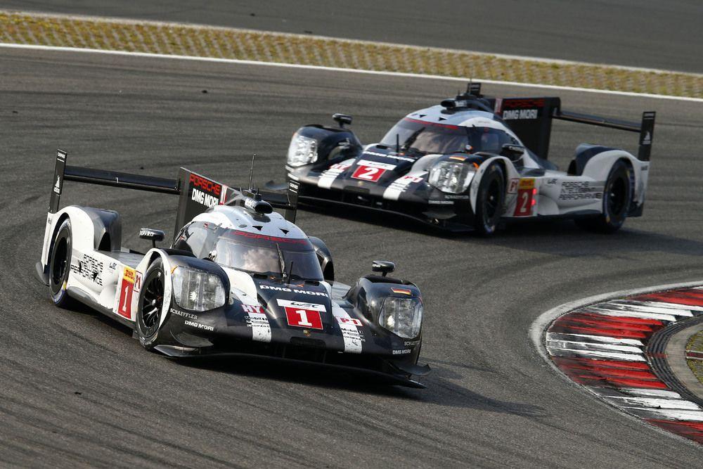 964890_Porsche 919 Hybrid, Porsche Team 1 Timo Bernhard, Brendon Hartley, Mark Webber.  Porsche Team 2 Romain Dumas, Neel Jani, Marc Lieb