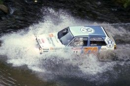 Kenneth Eriksson, Peter Diekmann Rally Neuseeland 1986