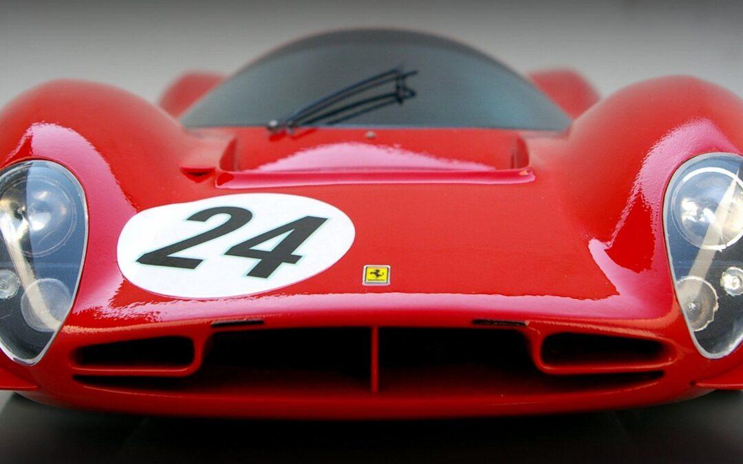 Una Ferrari que está del Bonetto