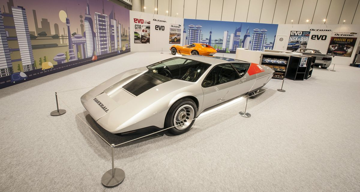 Concept cars on display at The London Classic Car Show