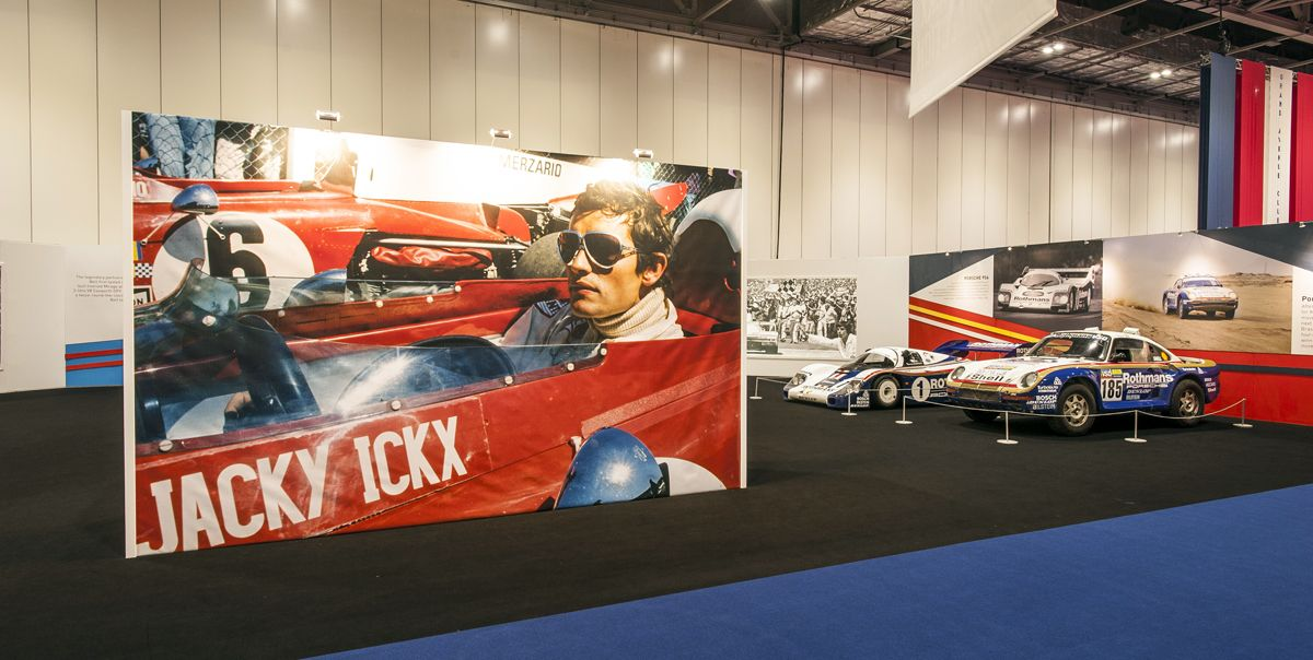Jacky Ickx tribute at The London Classic Car Show 4