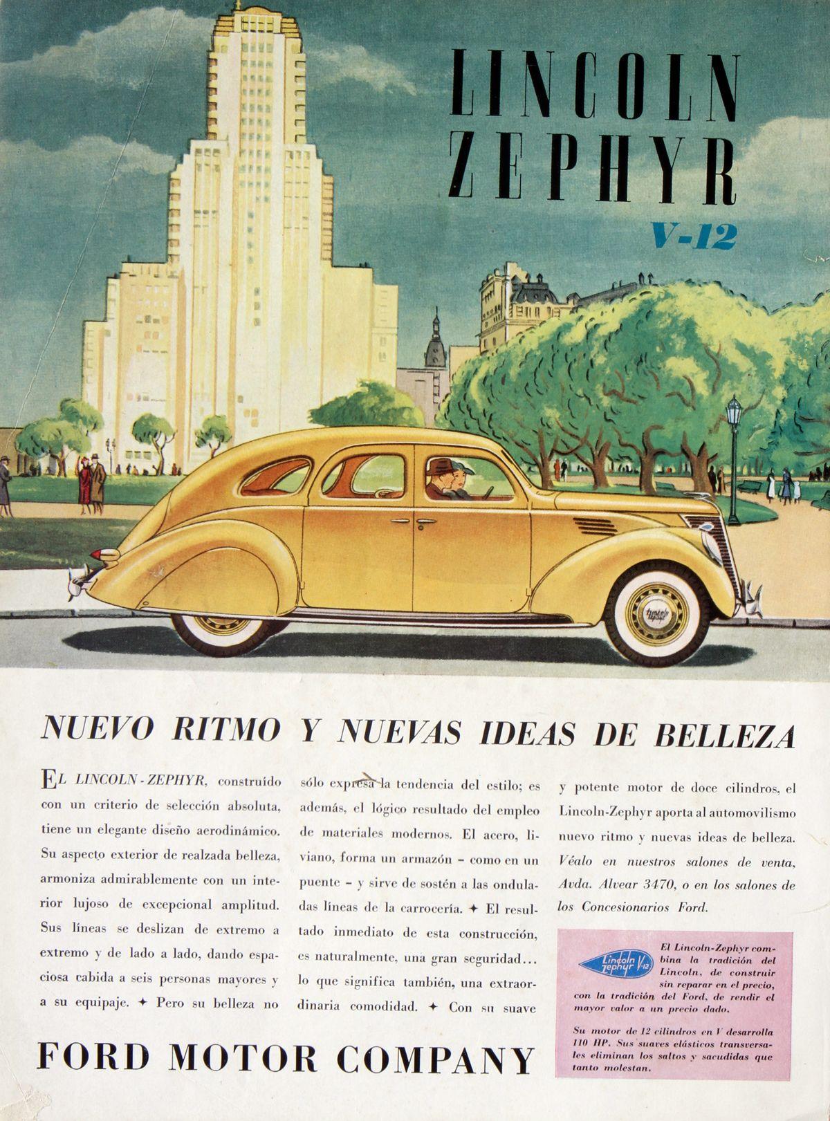 Lincoln Zephyr V12 edificio_Atlantida_Agosto 1936_Argentinaweb
