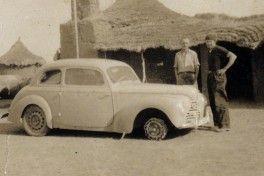20.12.2001 - DIVULGACAO - CA - EXCLUSIVO - PARIS- DACAR - NUM SKODA EM 1947