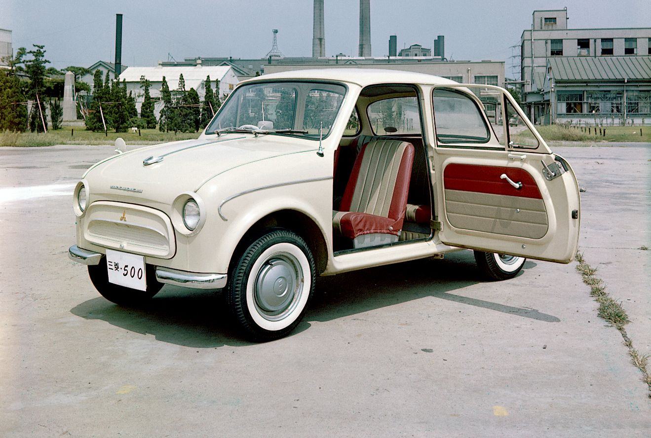 Mitsubishi 500: el comienzo de la era moderna