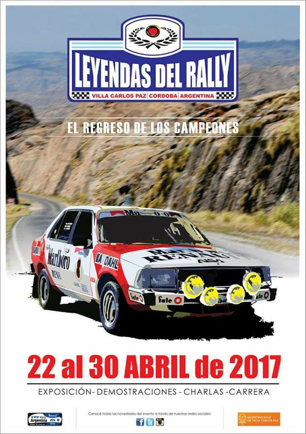 Leyendas del Rally 2017 Afiche