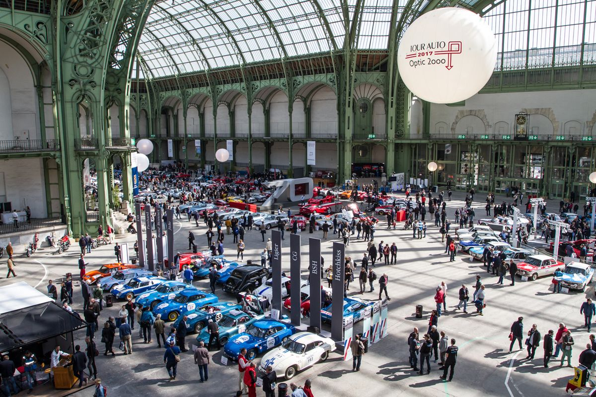 Tour Auto 2017: música de motores en el Grand Palais