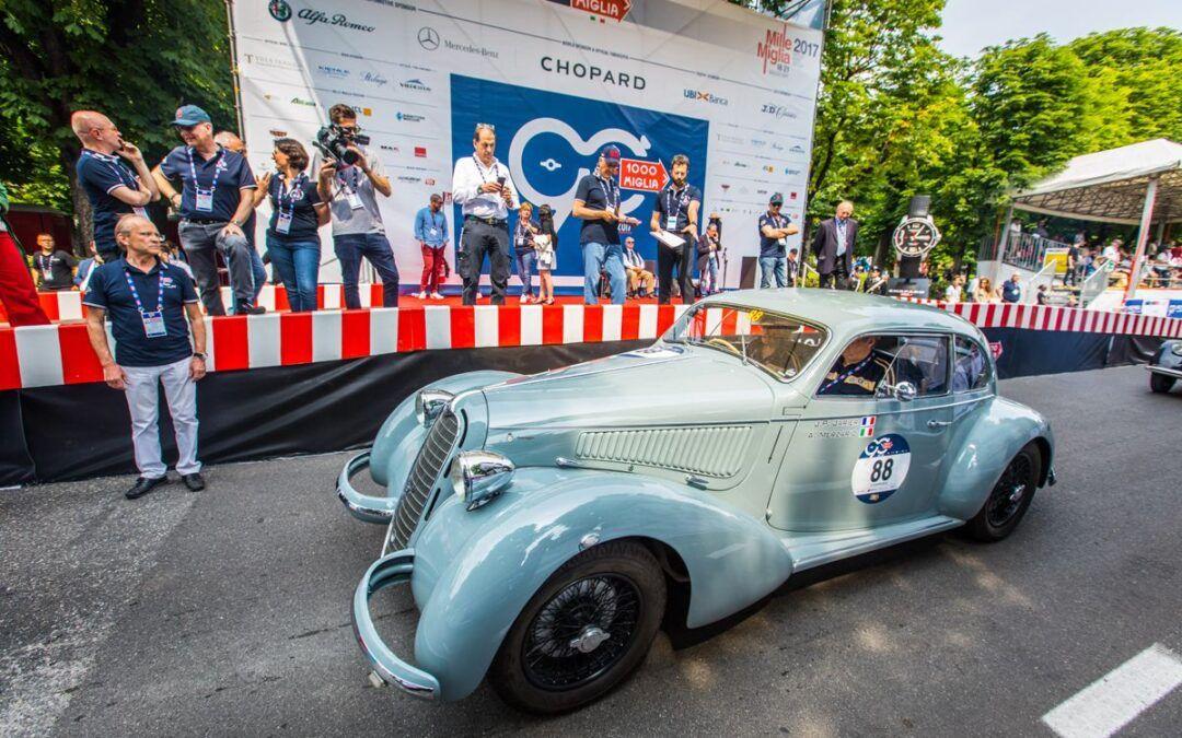 Mille Miglia 2017: la herencia de FCA